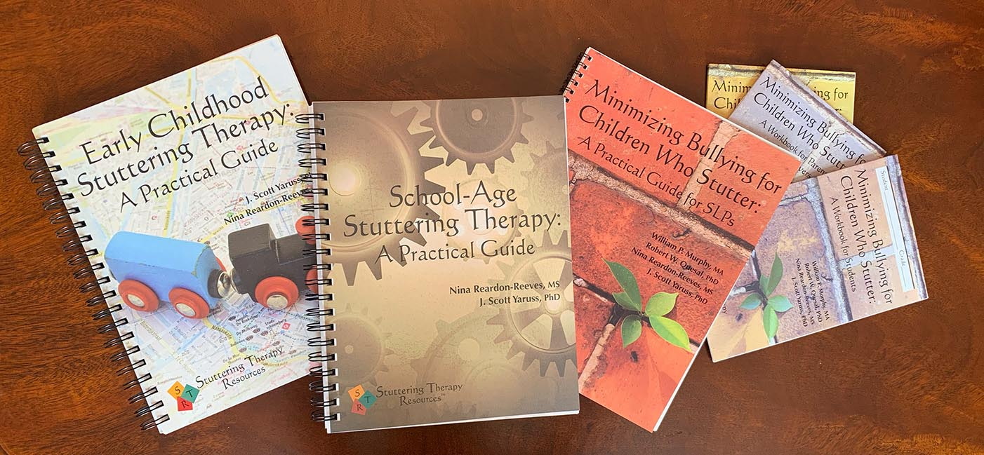 Stuttering Therapy Books and Therapy Guides