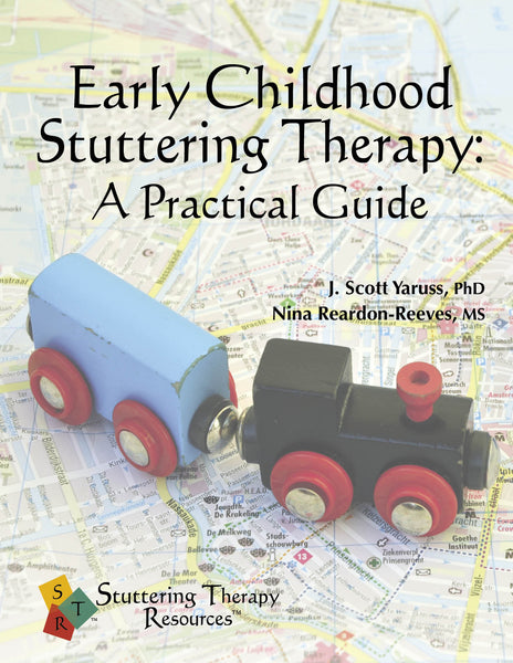 Stuttering Therapy Resources Early Childhood Practical Guide Front Cover