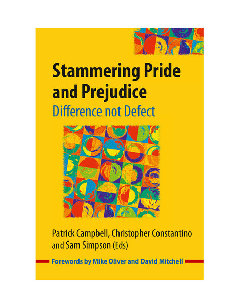 Stuttering Therapy Resources Stammering Pride & Prejudice Front Cover