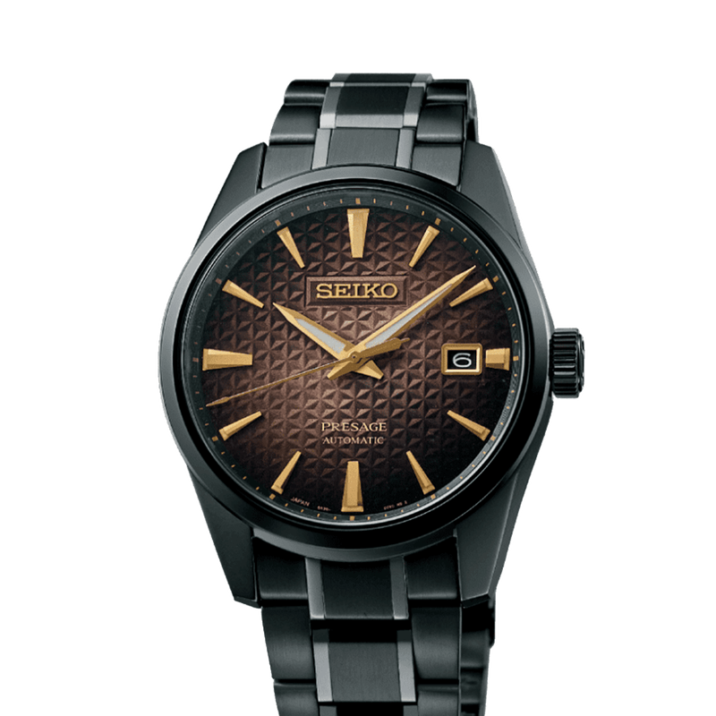 Seiko Presage Sharp Edged Series - 140th Anniversary Limited Edition of 4000 Pieces - SPB205J1