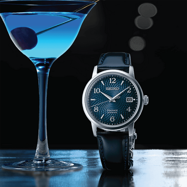 Presage Cocktail Time 'Old Clock' Watch - SRPE43J1