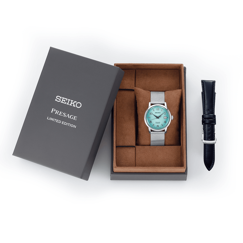 Presage Cocktail Time 'Frozen Margarita' Limited Edition Watch - SRPE49J1