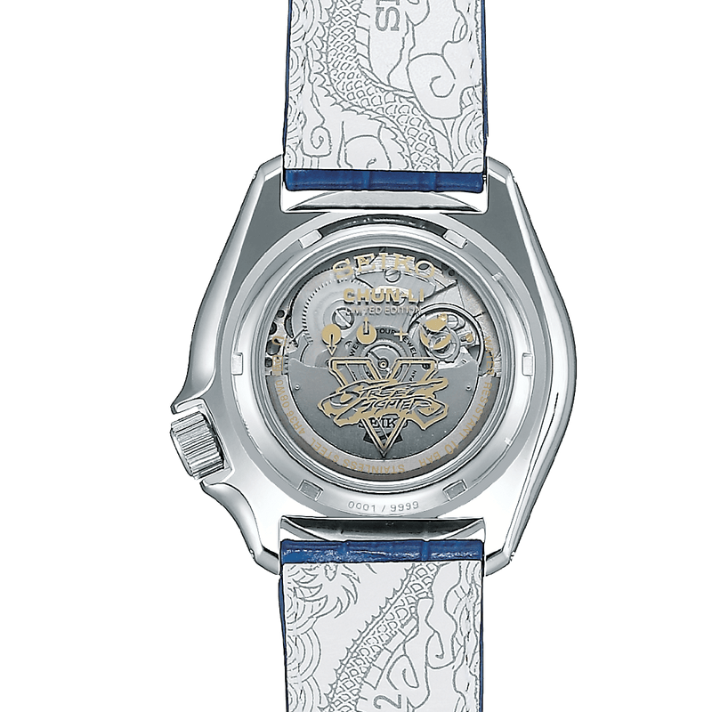 5 Sports Street Fighter Chun-Li Limited Edition Watch - SRPF17K1