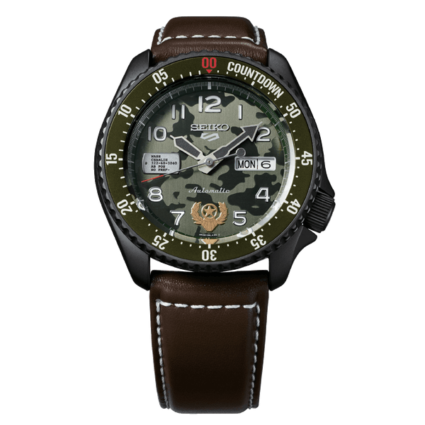 5 Sports Street Fighter GUILE Limited Edition Watch - SRPF21K1