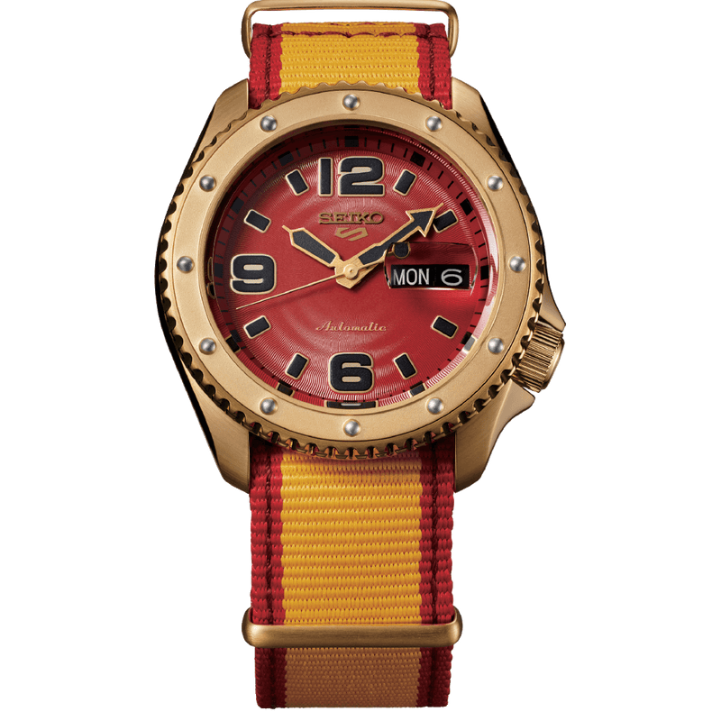 5 Sports Street Fighter ZANGIEF Limited Edition Watch - SRPF24K1