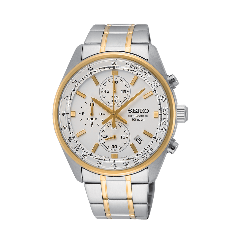 Dress Chronograph Watch - SSB380P1