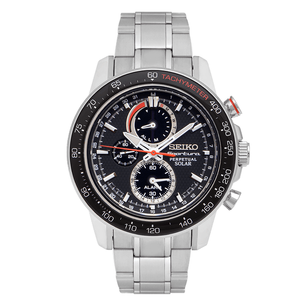 Sportura Perpetual Solar Chronograph Watch - SSC357P1