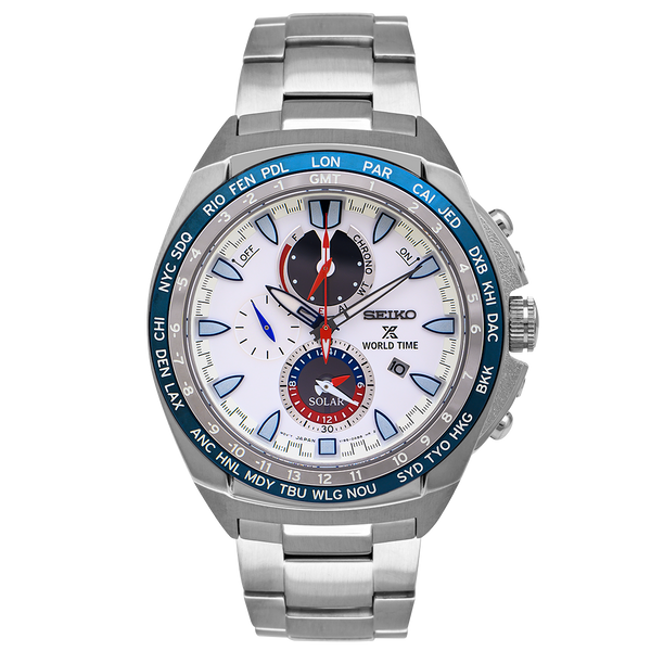 Prospex World Time Solar Chronograph Watch - SSC485P1
