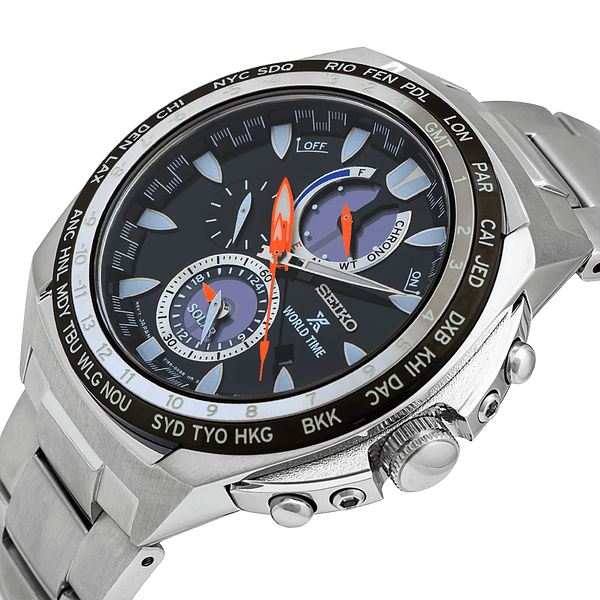 Prospex World Time Solar Chronograph Watch - SSC487P1