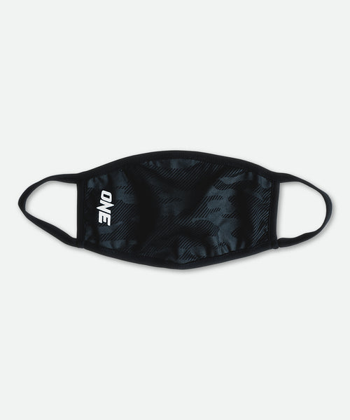 ONE Face Mask (Black Camo) - ONE.SHOP | The Official Online Shop of ONE Championship