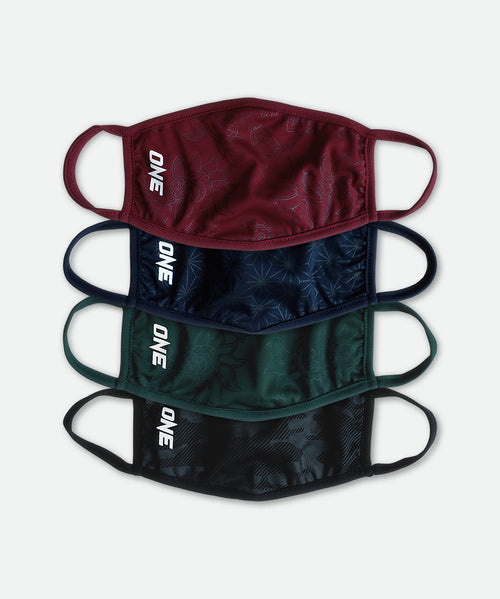 ONE Face Mask - Assorted Designs (Set of 4) - ONE.SHOP | The Official Online Shop of ONE Championship