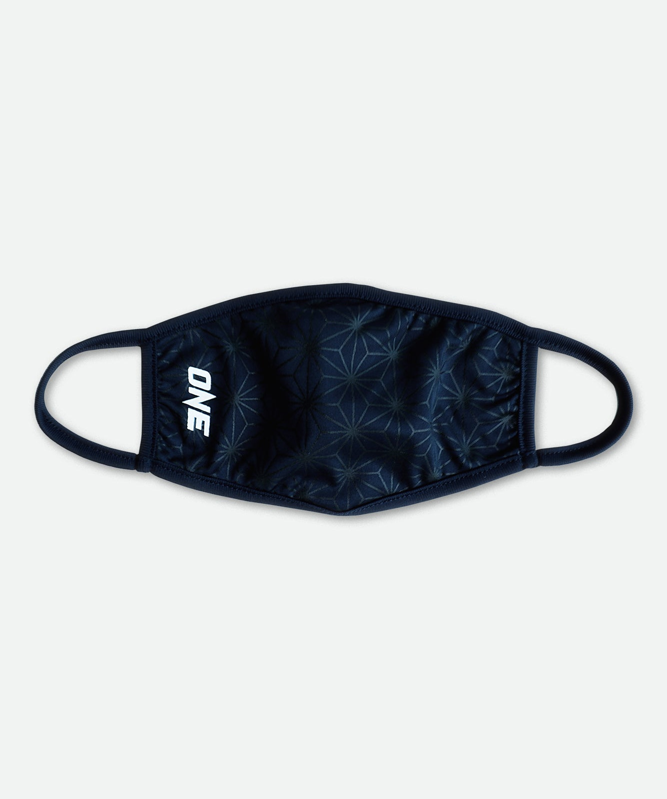 ONE Face Mask (Navy Geometric) - ONE Championship | ONE.SHOP