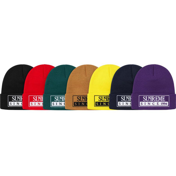 SUPREME SS20 WEEK0 RESERVED BEANIE