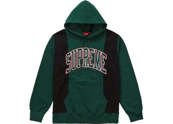 SUPREME FW19 WEEK4 PANELED ARC HOODED SWEATSHIRT