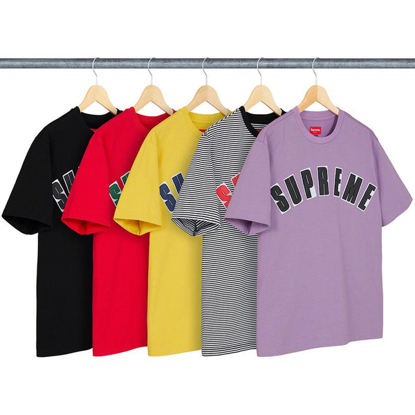 SUPREME SS20 WEEK3 ARC APPLIQUE S/S TOP