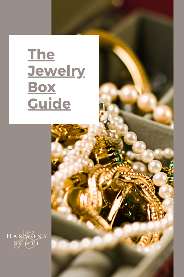 Jewelry Care: what belongs in the box