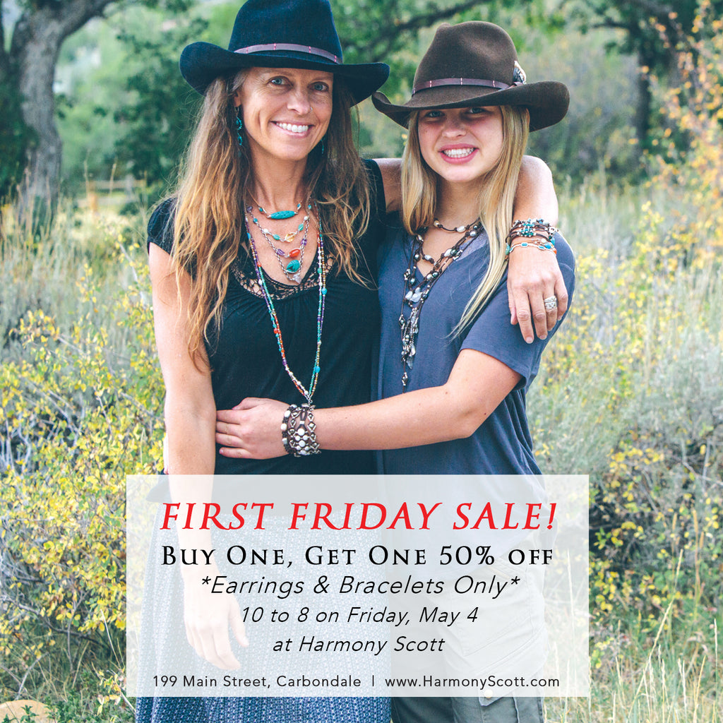 First Friday Mother's Day Sale