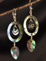 Handmade Abalone Earrings