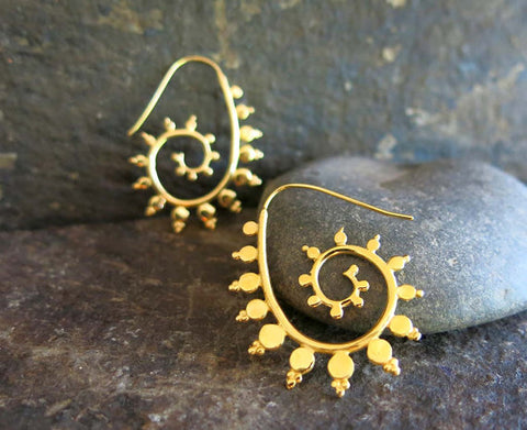 Fractal Earrings by Georgie