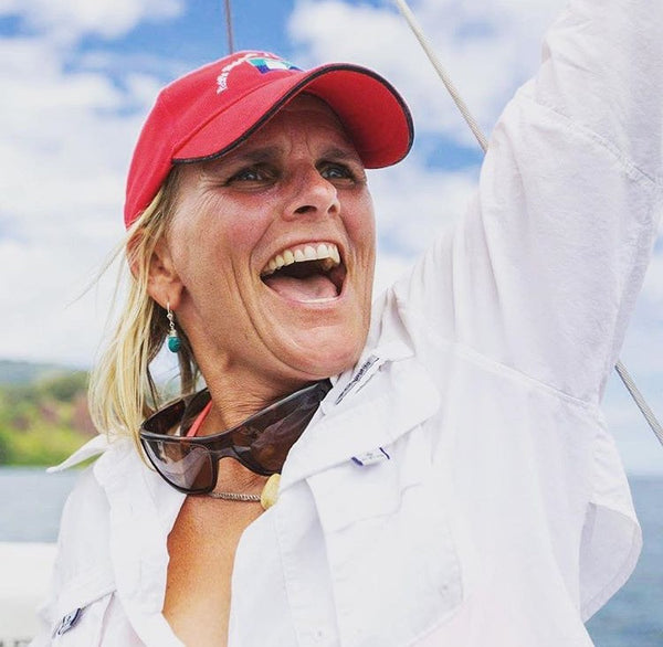 Margie Woods Approaching Hawaii After Solo Sail from San Francisco