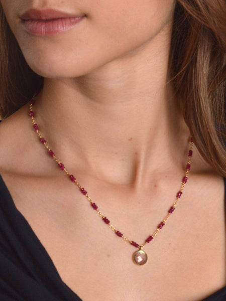 Dream 18kt Ruby Necklace