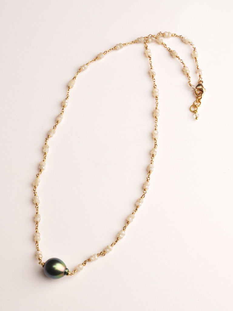 Black Tie 18 Kt Gold Necklace