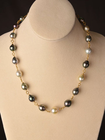 18kt Reina Pearl Necklace