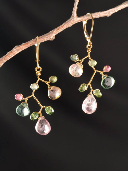 18kt Meadow Branch Earrings