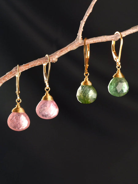 Meadow Drop 18kt Earrings