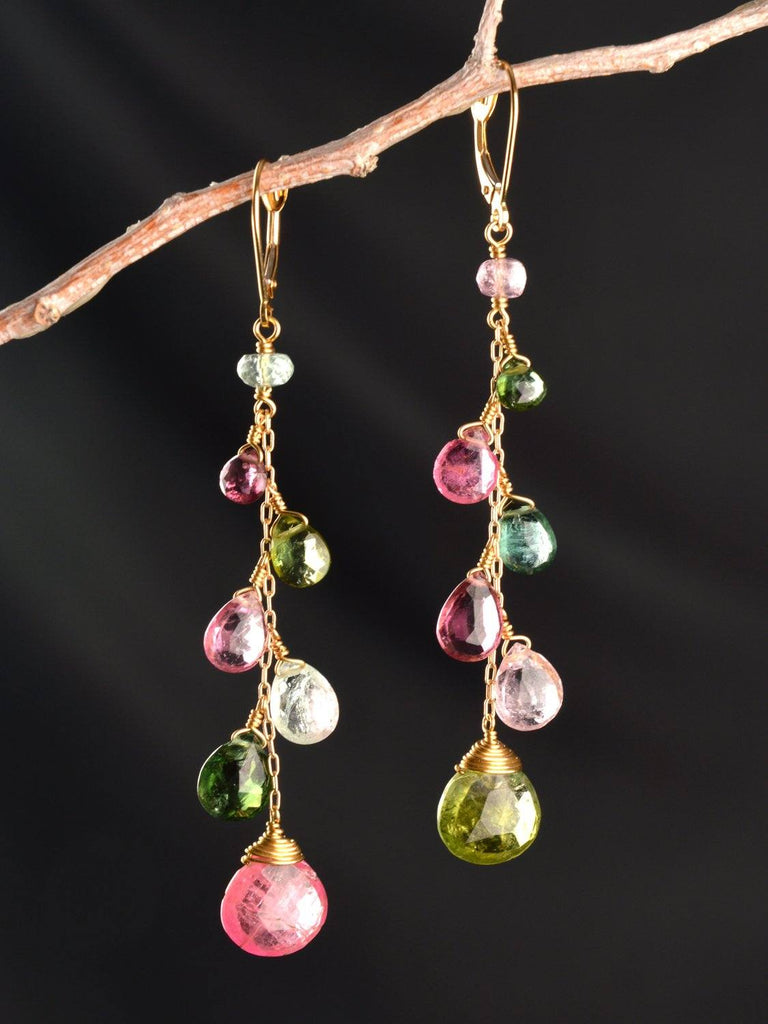 Meadow Vine 18kt Earrings