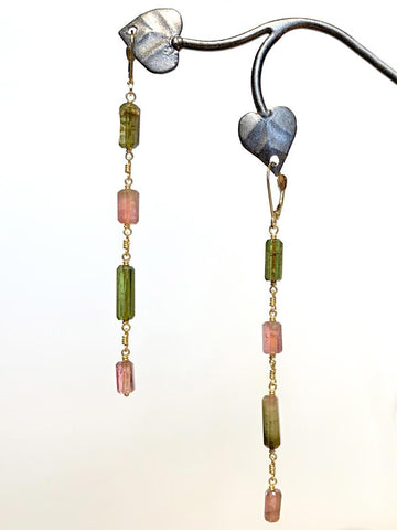 Meadow Long 18kt Earrings