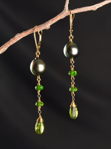 Anastasia Drip 18kt Earrings
