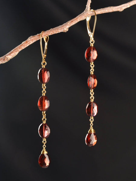 Desire Long 18kt Earrings