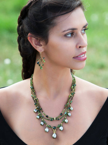 Green Goddess 18kt Necklace