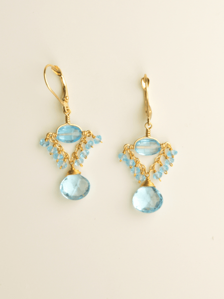 18kt Inner Peace Earrings