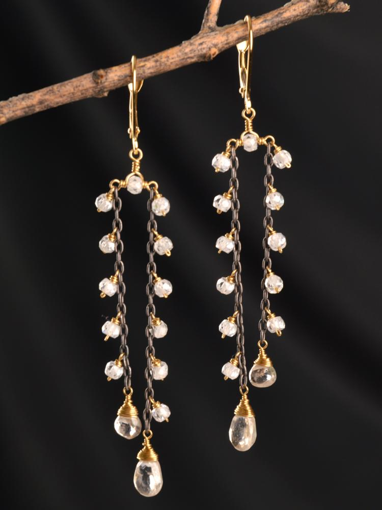 Gatsby 18kt  A-Symm Earrings