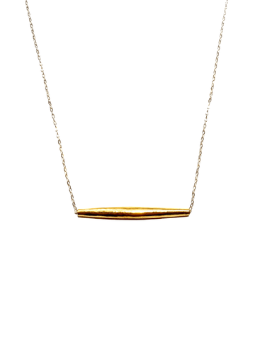 Brass & Silver Necklace