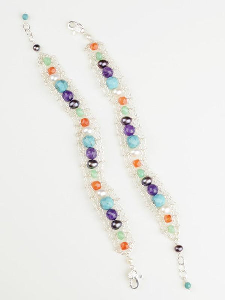 Cosmic Girl Ladder Bracelet