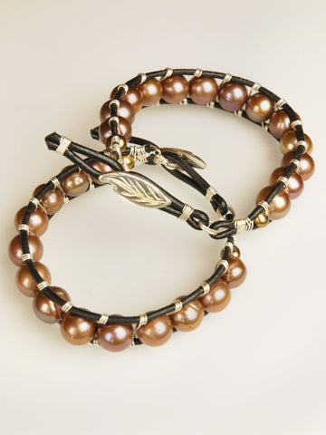 Jupiter Leather Bracelet