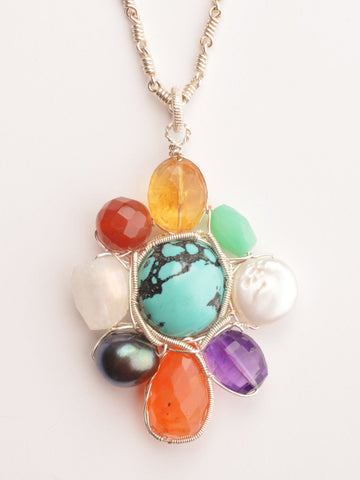 Cosmic Girl Energy Pendant