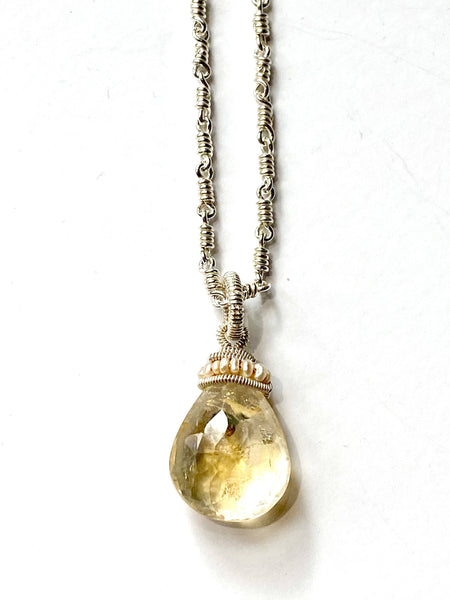Citrine Crowned Pendant
