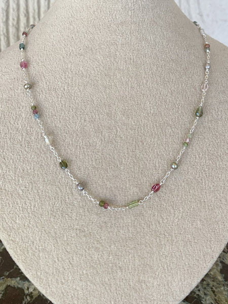 Wildflower Charm Necklace