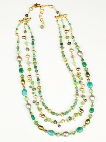 Gaia Multi Strand Necklace