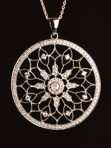 Dream Weaver Diamond Pendant
