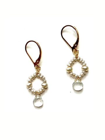 Galene Circle Earrings