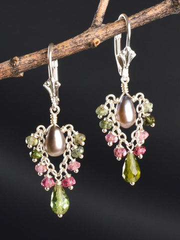 Wildflower Trapeze Earrings