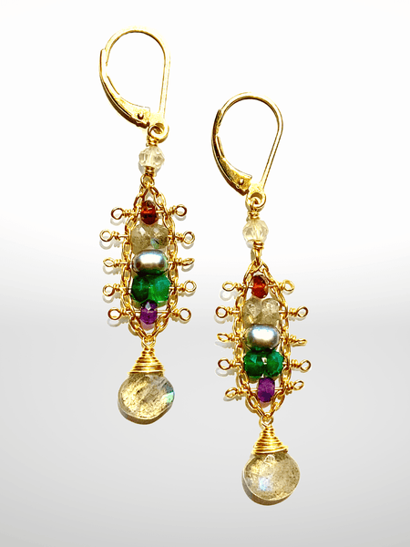 Four Seasons Ladder Earrings