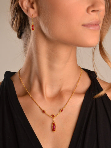 Lalita Ruby Necklace
