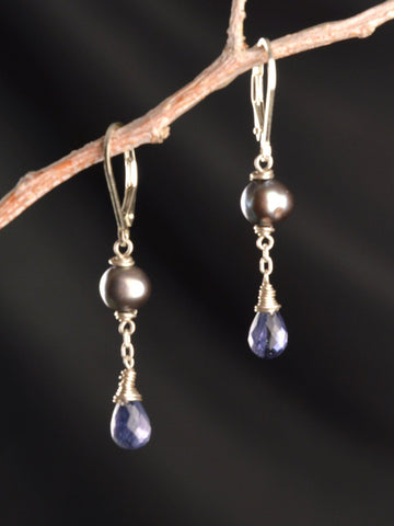 Asteria Pearl Drop Earrings