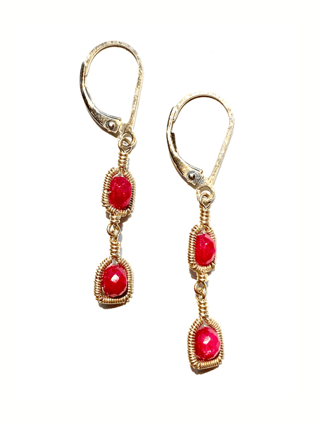 Lalita Double Framed Earrings